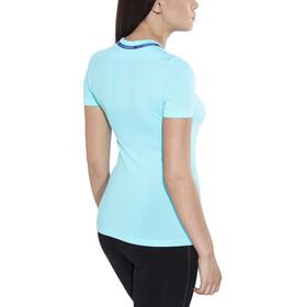 Odlo Ceramicool Seamless Shirt S/S Crew Neck Women blue radiance-spectrum blue